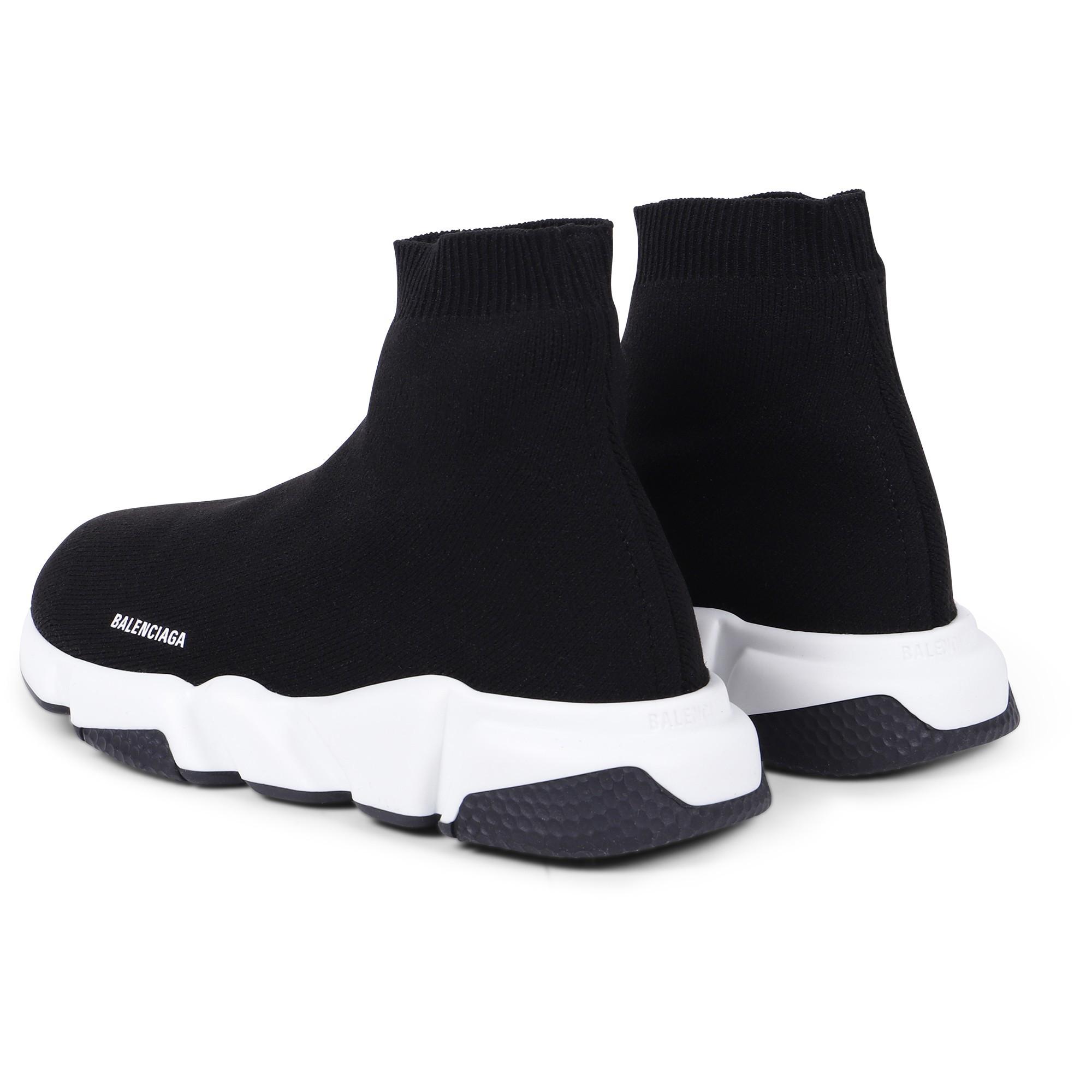 Balenciaga Sock Sneakers in Black