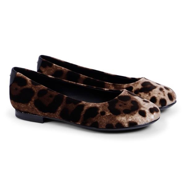 girls leopard flats