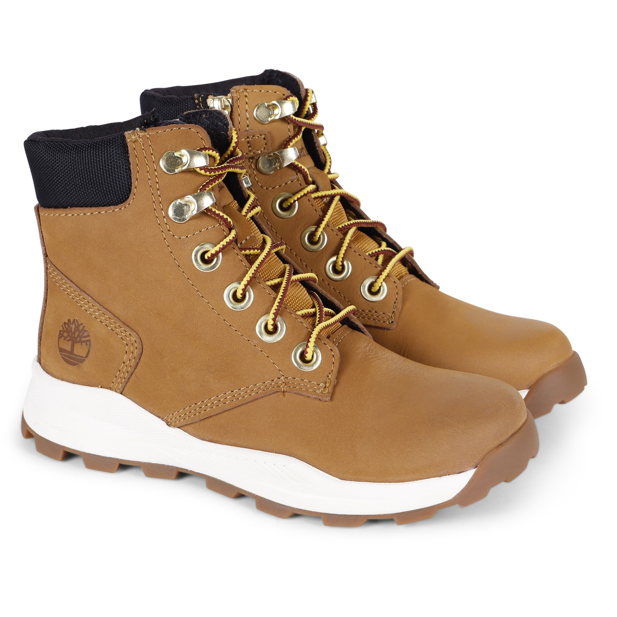 Timberland Boys Sneaker Boots in Brown