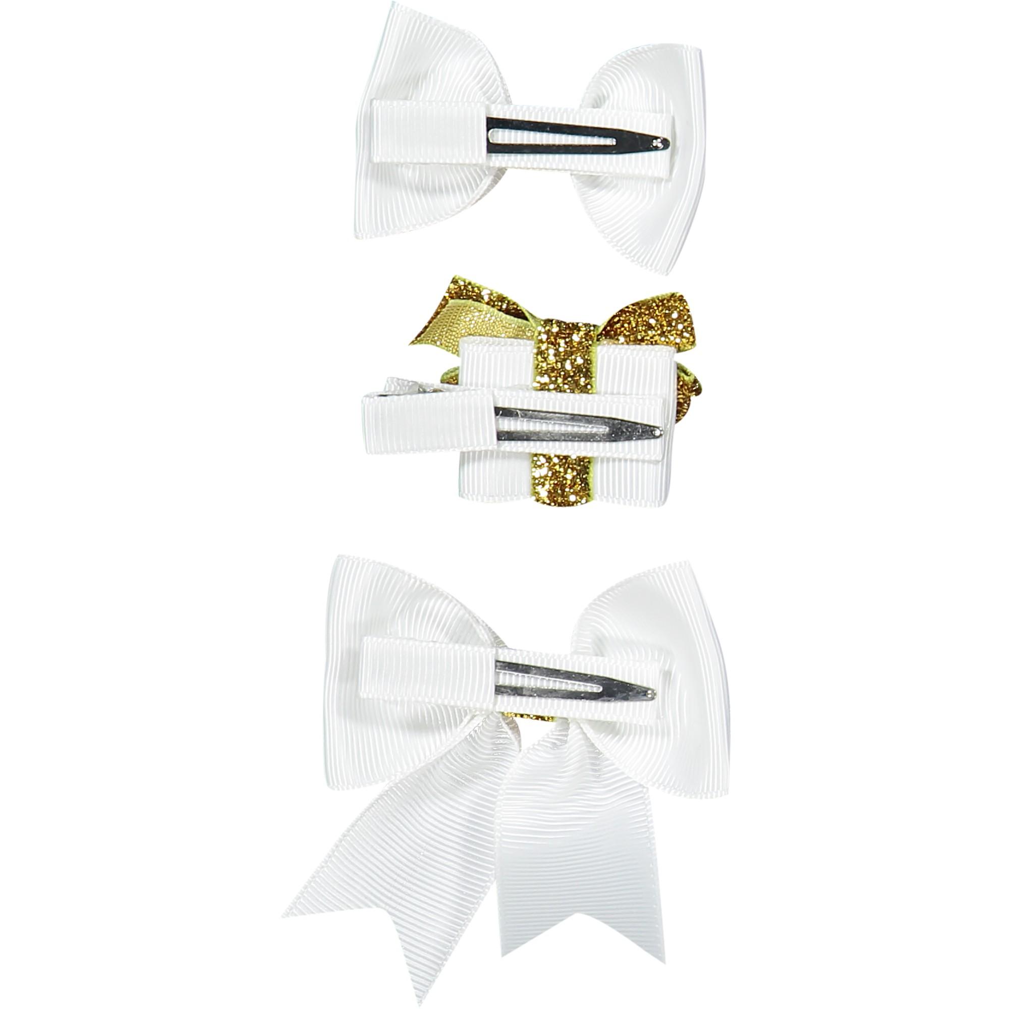 Milledeux Girls Gold Christmas Hair Clip Gift Set Bambinifashion Com