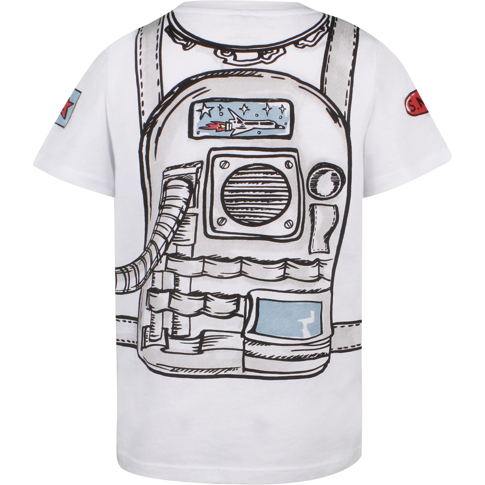 Stella McCartney Astronaut Suit T-Shirt - BAMBINIFASHION.COM