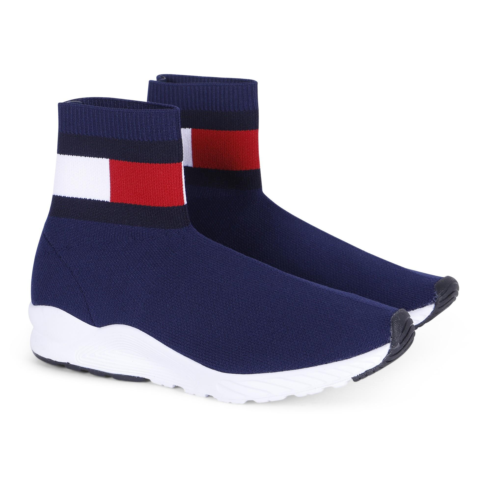 Tommy Hilfiger Logo Sock Sneakers in