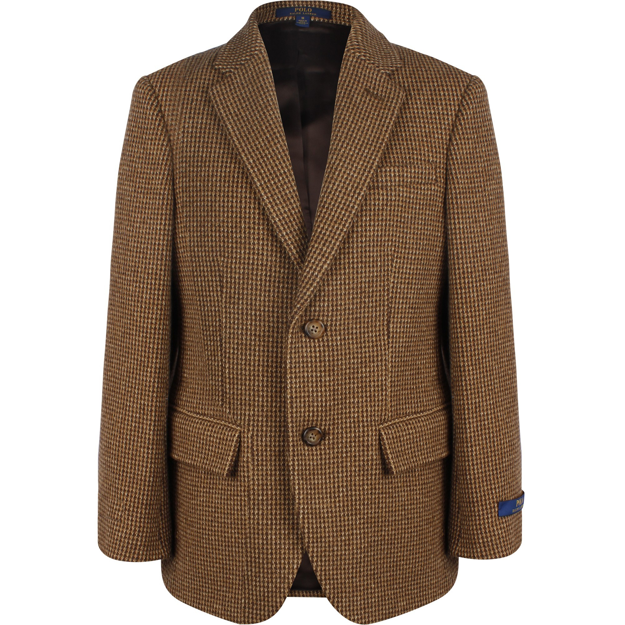 Exist Overview Annual  Polo Ralph Lauren Tweed Blazer in Brown - BAMBINIFASHION.COM