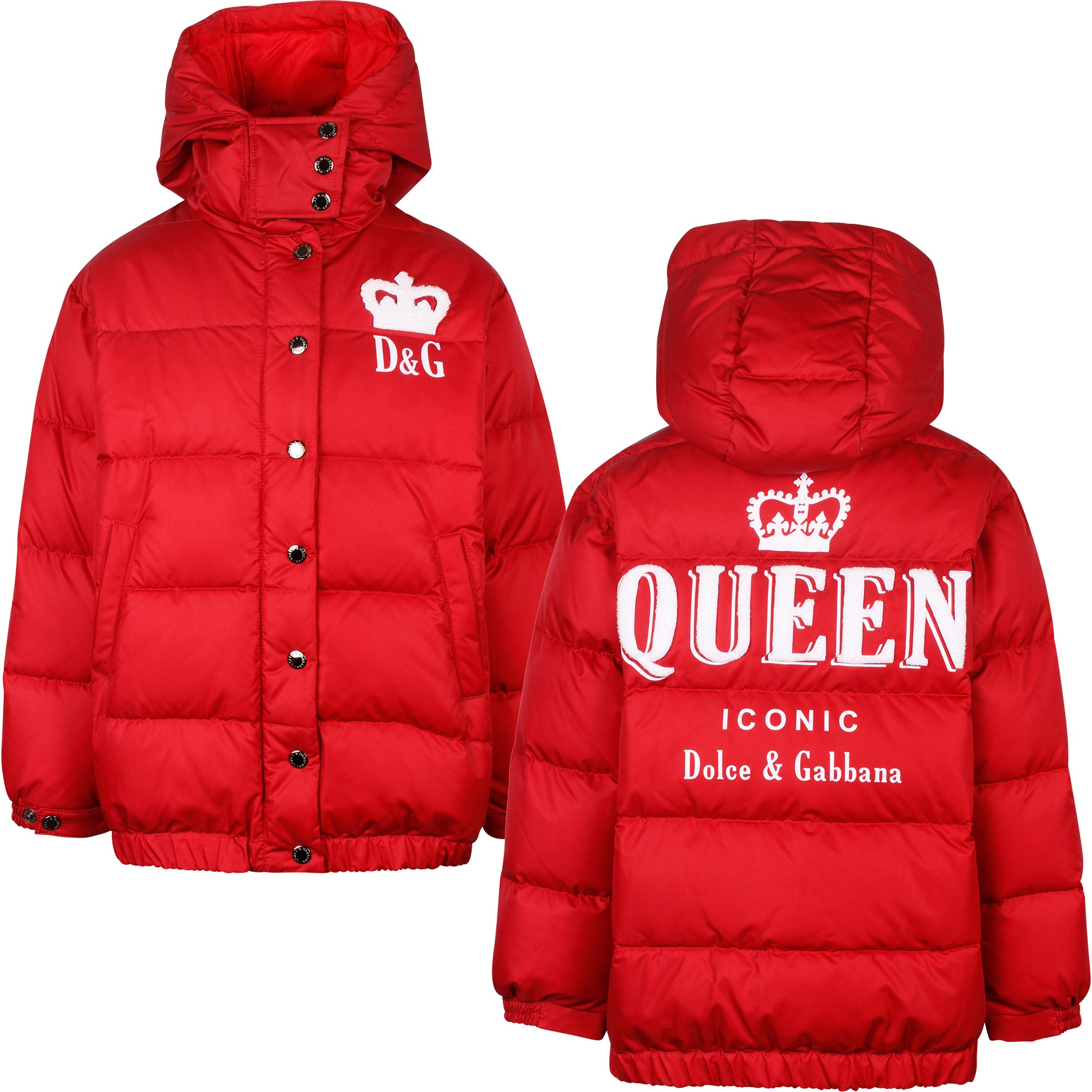 8 D/&G Red Hooded Outfit