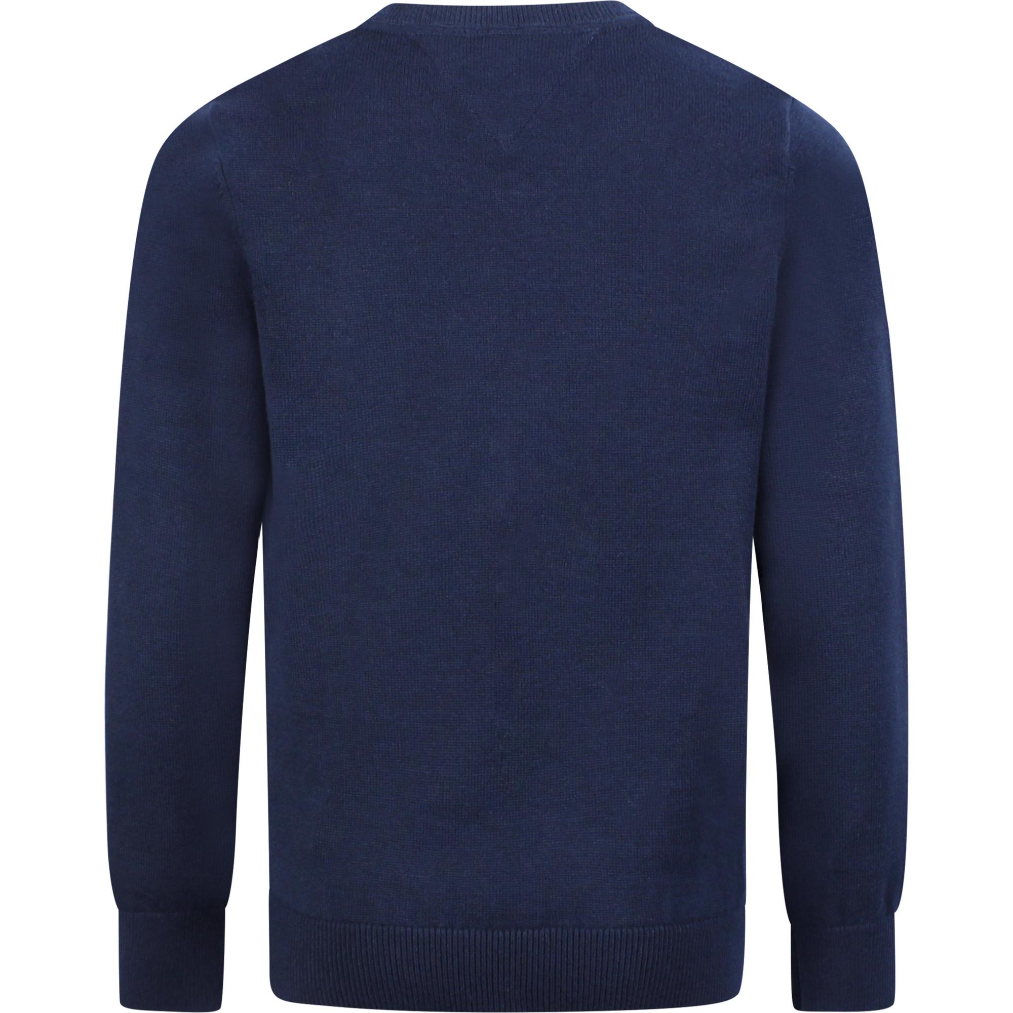 Tommy Hilfiger Long Sleeve Boys V-Neck Sweater