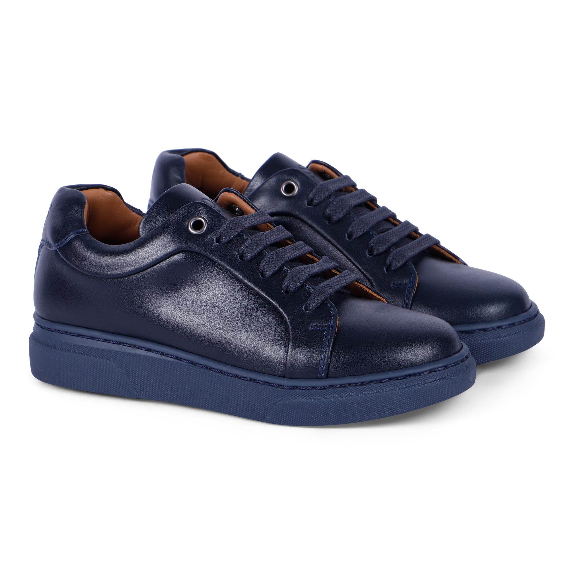 Boss Boss Boys' Shoes in Navy Blue