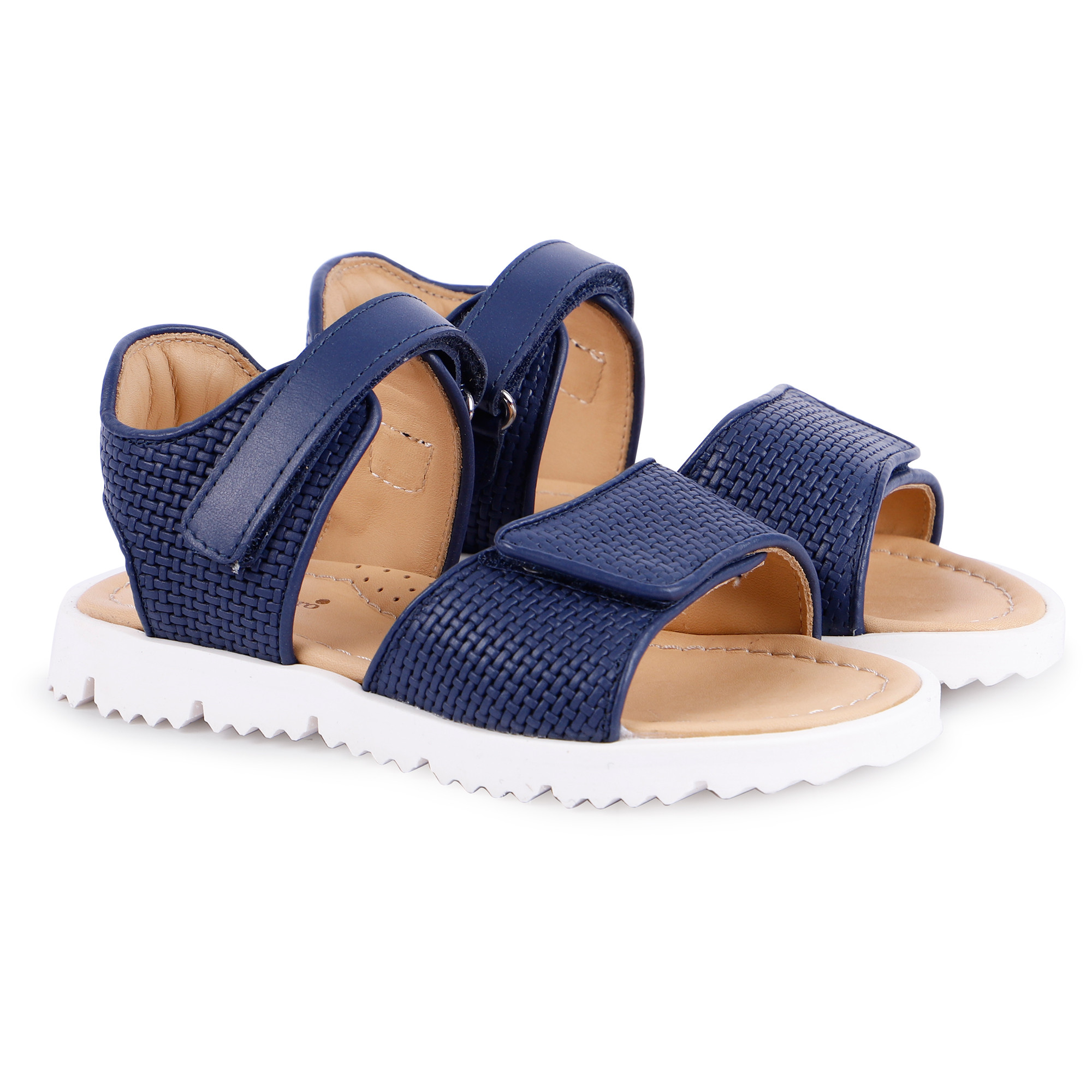 Zecchino d'Oro Summer Sandals in Navy