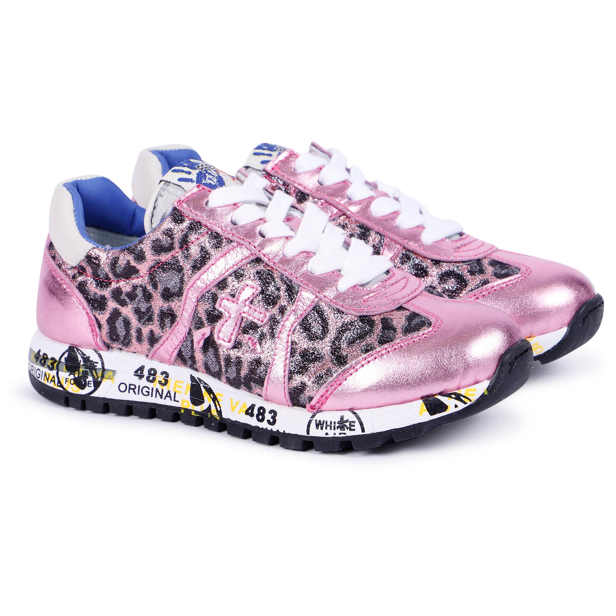 Premiata Kids Girls' Leopard Print