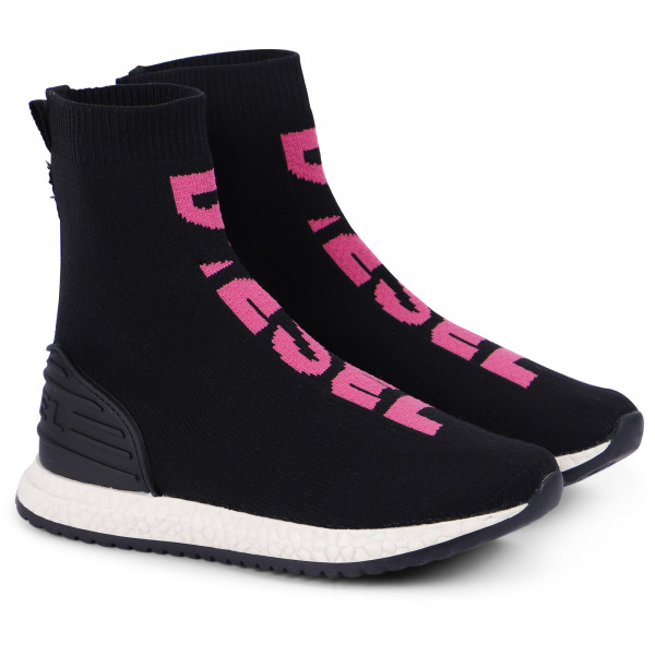 Diesel Girls' Knit Sock Sneakers