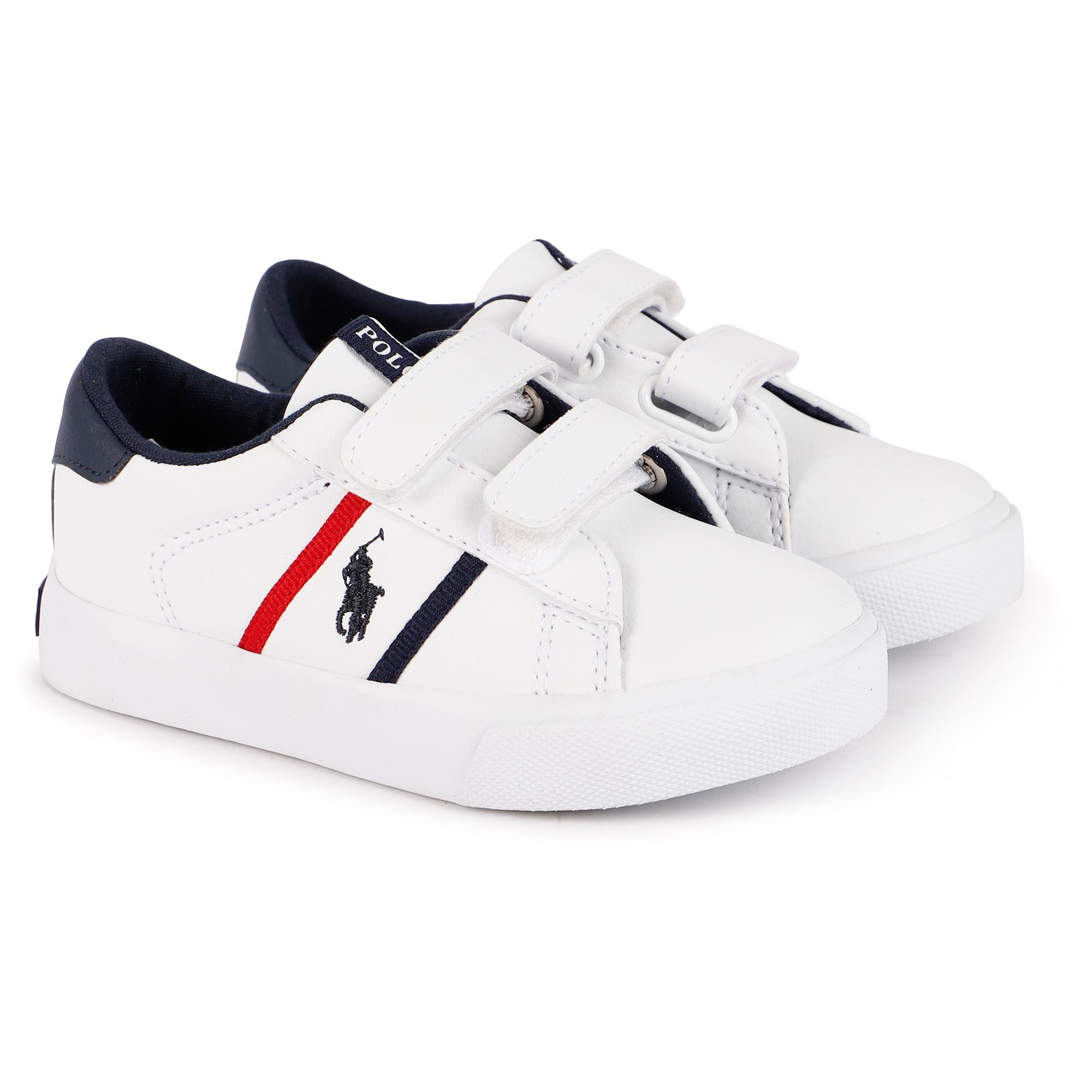 Polo Ralph Lauren Logo Velcro Sneakers