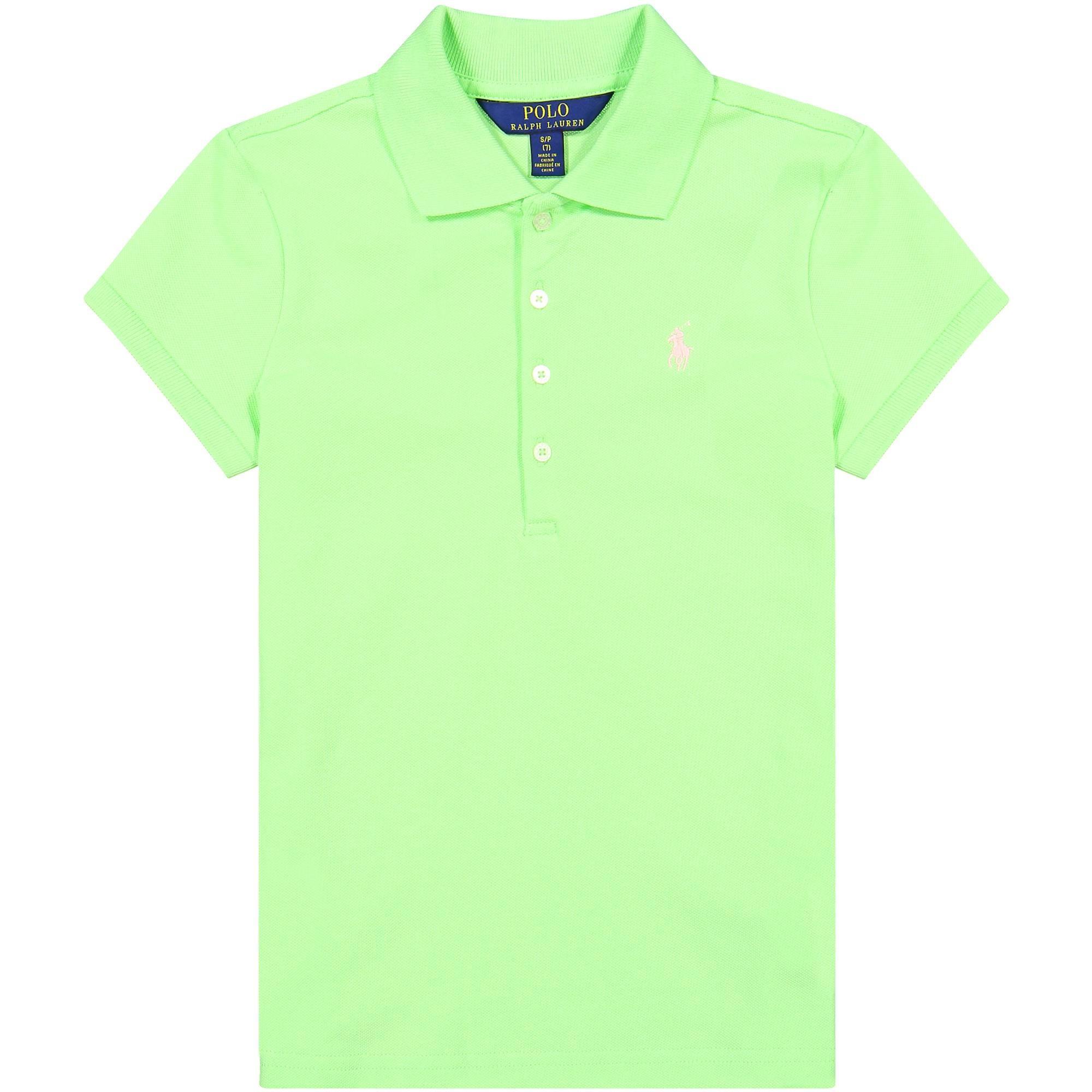 lime polo shirt