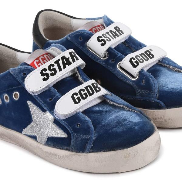 Golden Goose Boys 'Star GGDB' Velcro
