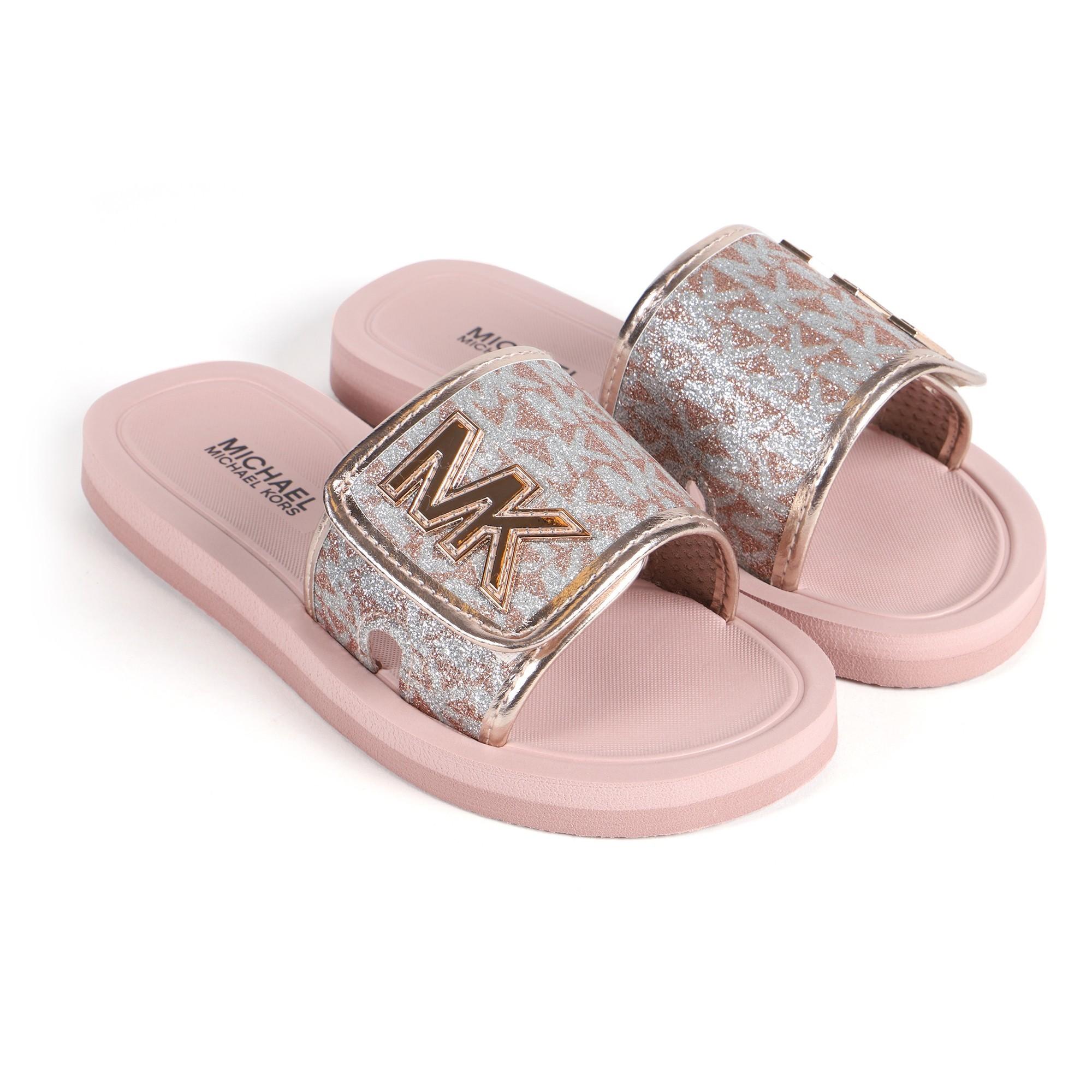 Michael Kors Girls Glitter Slide