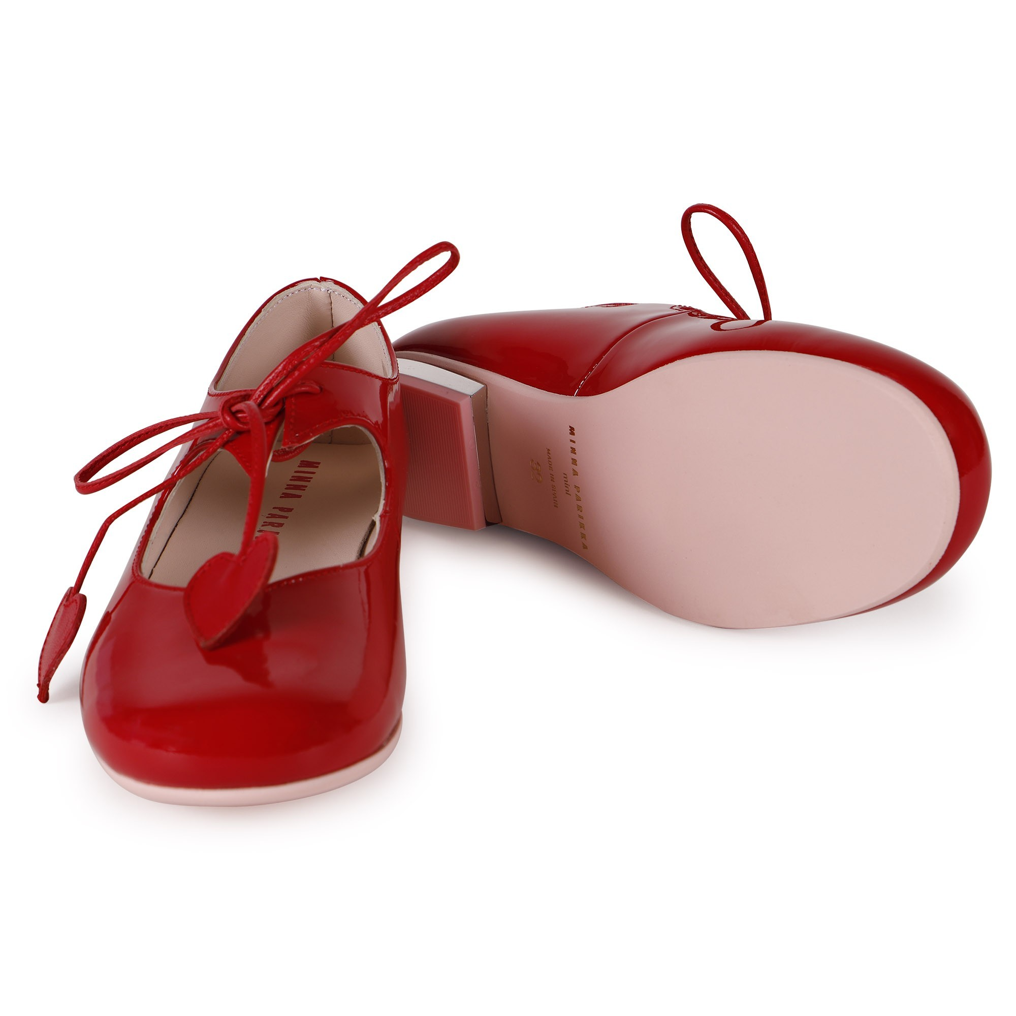 Minna Parikka Girls Red Patent