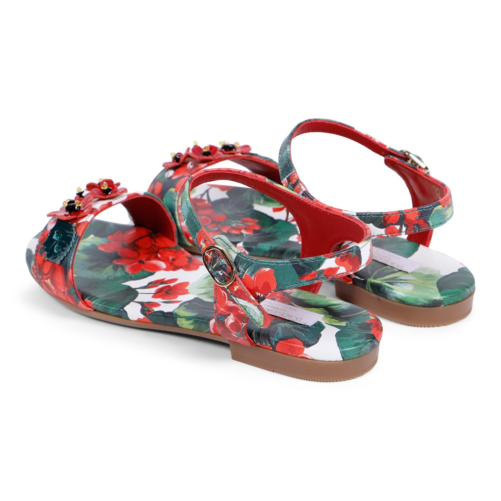 Dolce \u0026 Gabbana Girls Ankle Sandals in